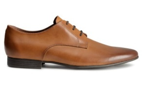 This leather derby shoe is a great cheap mens formal shoe