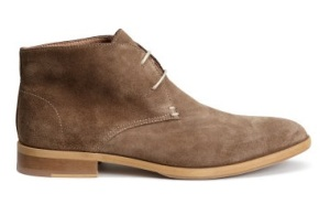 These rugged dessert boots are another great men's shoe