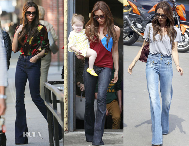 Victoria-Beckham-Loves-Flared-Jeans