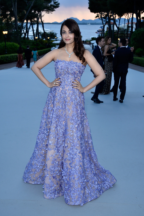 Aishwarya Rai wearing Elie Saab haute couture