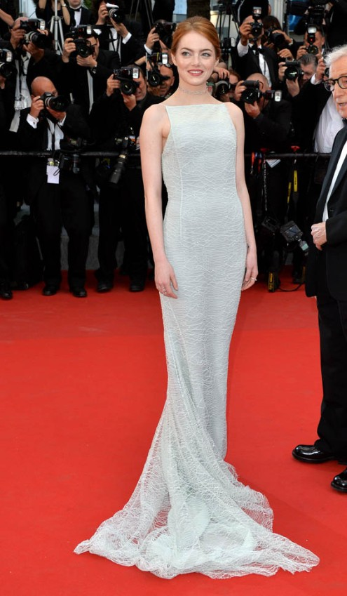 CANNES, FRANCE - MAY 15:  Emma Stone attends the