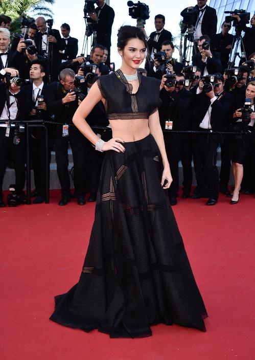 Kendall Jenner wearing an Azzedine Alaïa