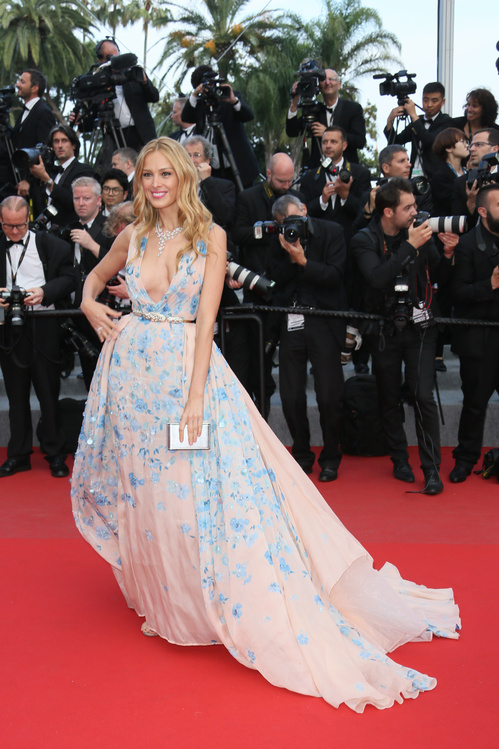 Petra Nemcova in a Zuhair Murad haute couture